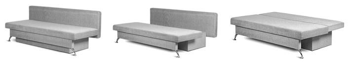 диван-кровать, механизм еврокнижка
